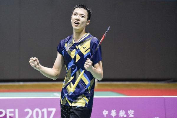 王子維男子羽球單打金牌