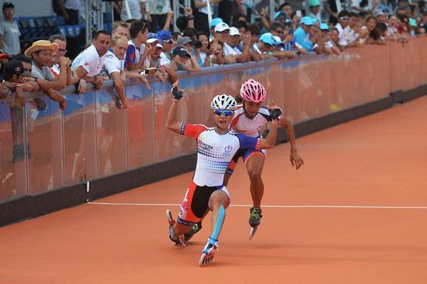 楊合貞1500公尺滑輪金牌
