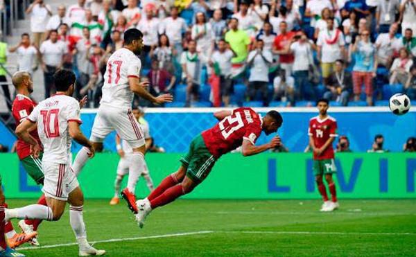 伊朗靠烏龍球1:0險勝摩洛哥