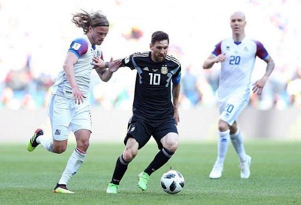 冰島1:1逼和阿根廷