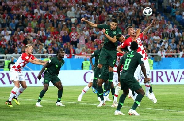 克羅埃西亞2:0勝奈及利亞