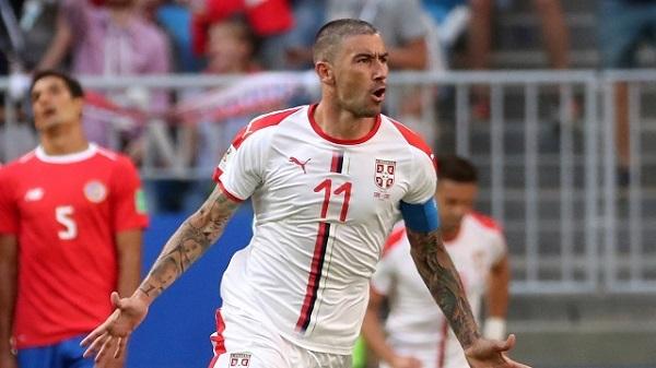 塞爾維亞自由球1:0擊退哥斯大黎加