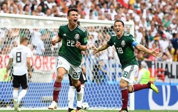 墨西哥1:0爆冷絕殺德國
