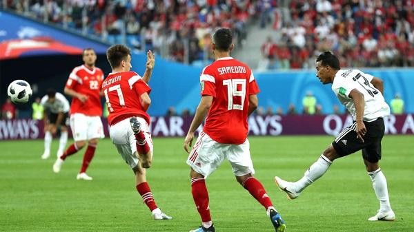 俄羅斯3:1戰勝埃及