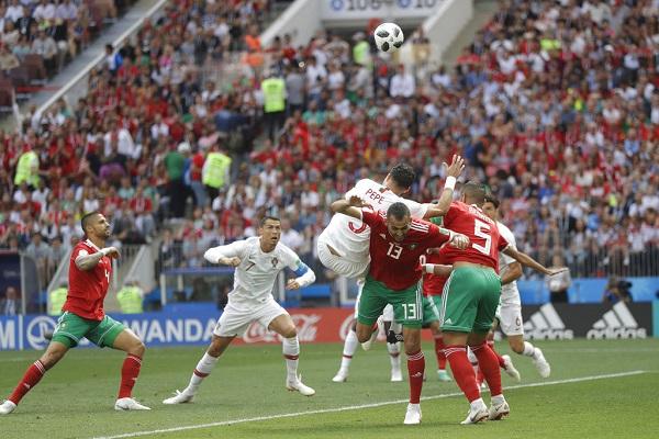 葡萄牙1:0勝摩洛哥