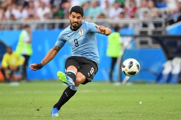 烏拉圭1:0勝沙烏地阿拉伯