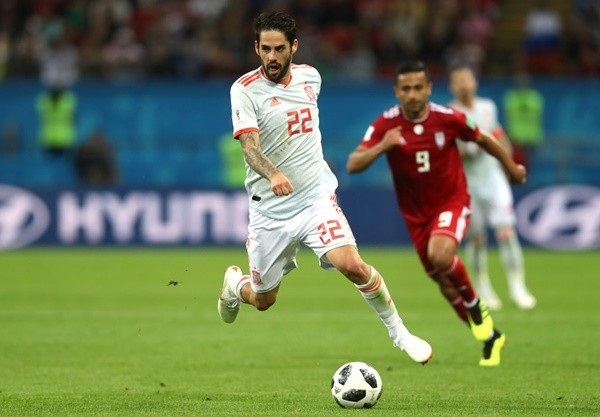 西班牙1:0力退伊朗