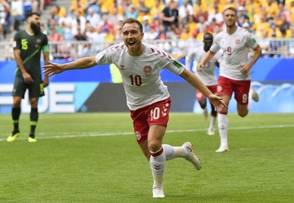 澳洲1:1逼和丹麥