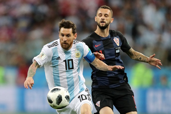 阿根廷0:3慘敗克羅埃西亞