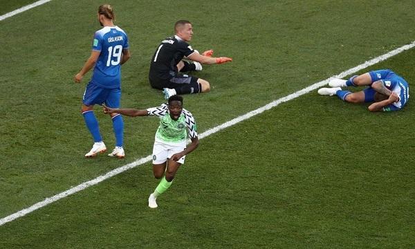 奈及利亞2:0踢翻冰島