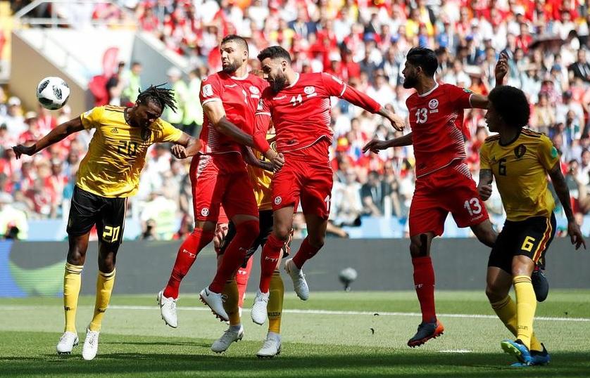 比利時5:2大勝突尼西亞