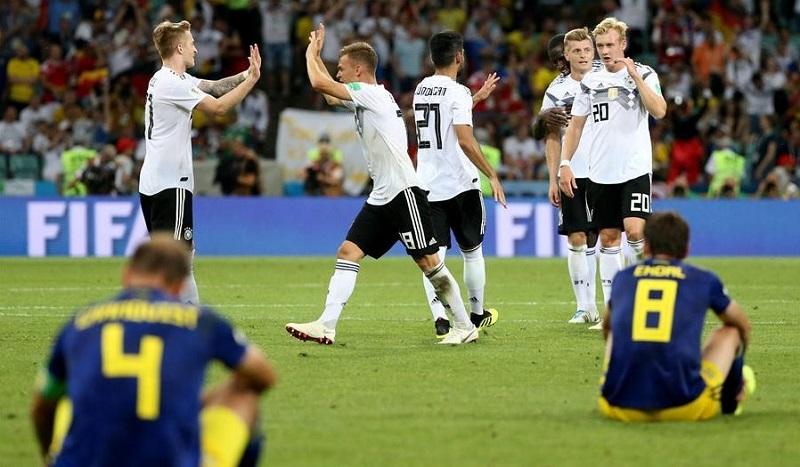 德國2:1逆轉瑞典