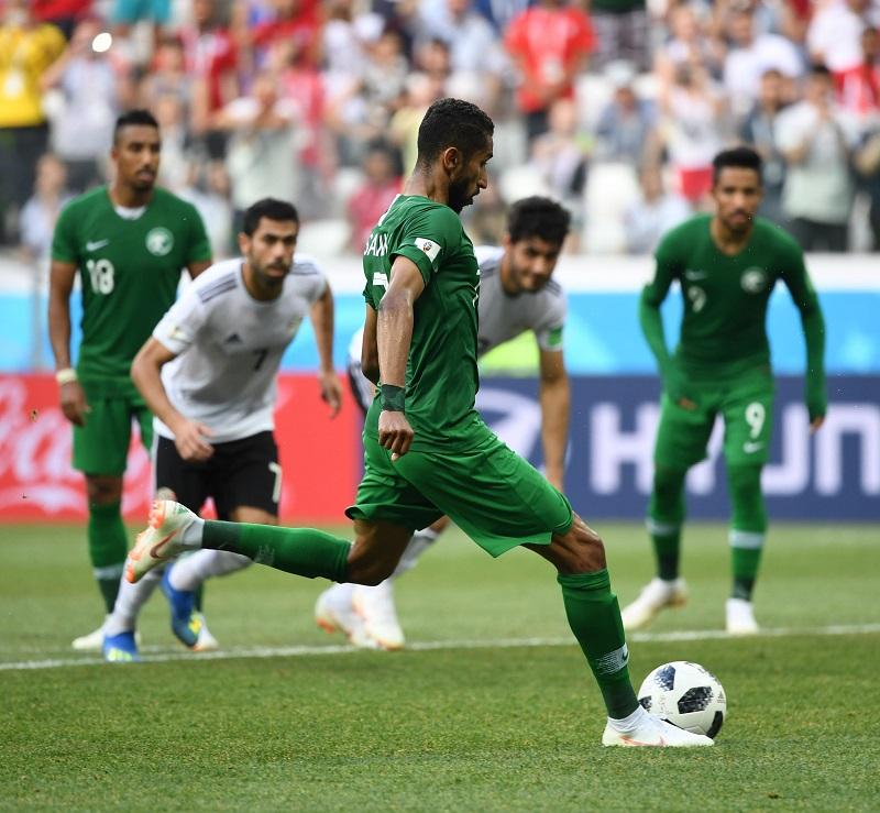 沙烏地阿拉伯1:0險勝埃及