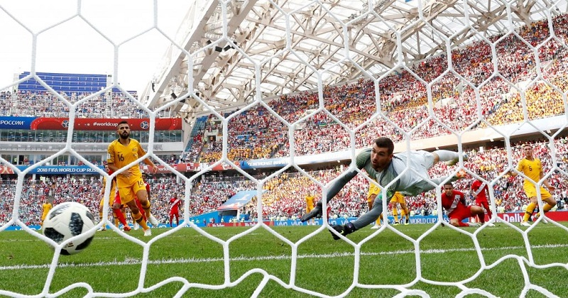 祕魯2:0戰勝澳洲