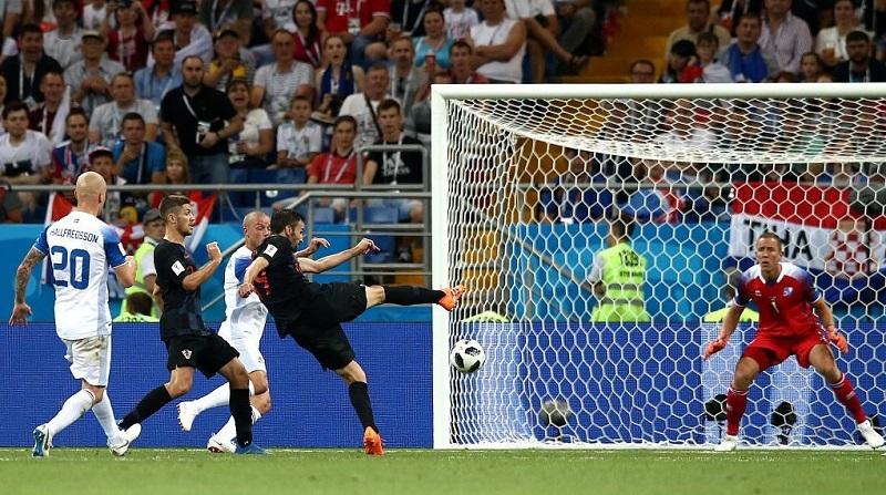 克羅埃西亞2:1擊敗冰島