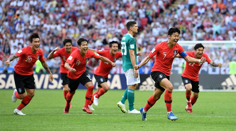 南韓2:0踢翻德國