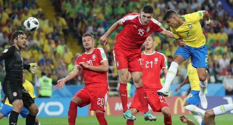 巴西2:0勝塞爾維亞