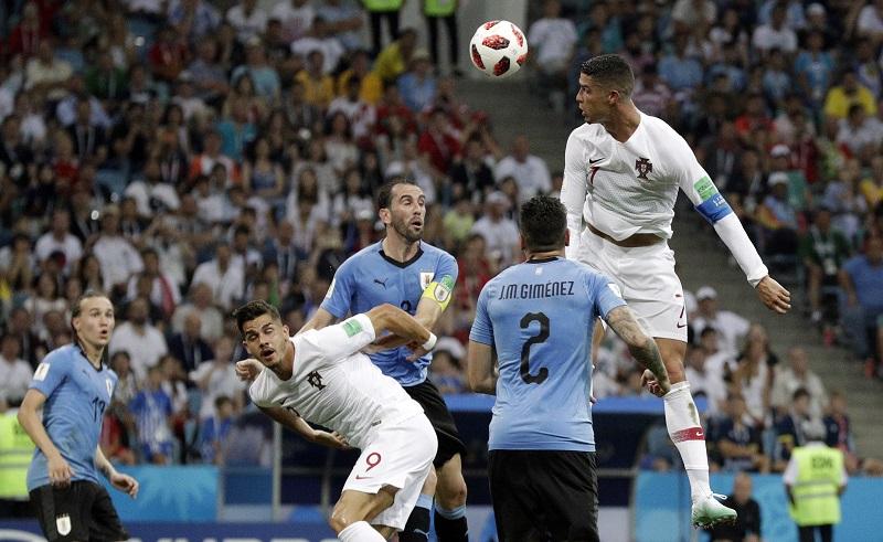 烏拉圭2:1扣倒葡萄牙