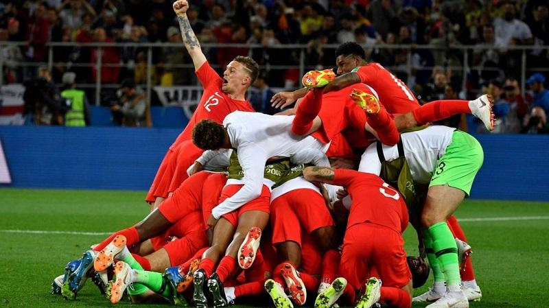 英格蘭5:4 於12碼踢倒哥倫比亞