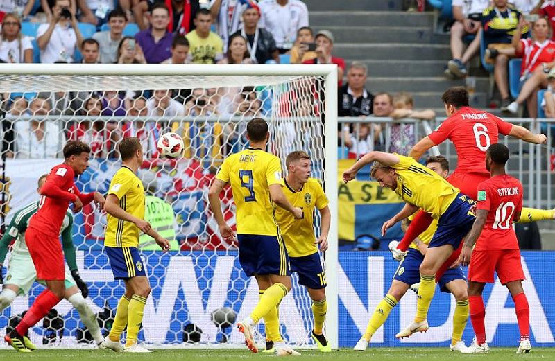 8強 英格蘭2:0擊敗瑞典