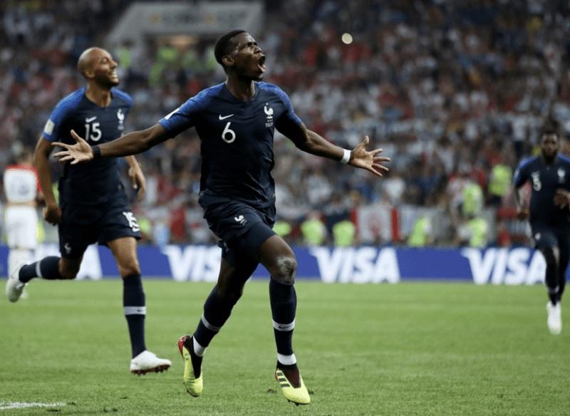 冠軍戰 法國4:2打敗克羅埃西亞