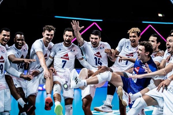 法國奪排球金牌