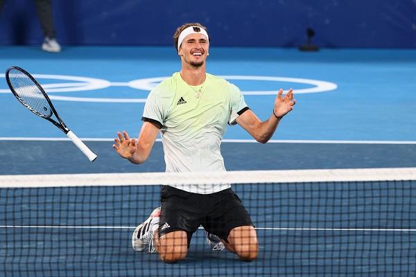 德國茲維列夫男網金牌
