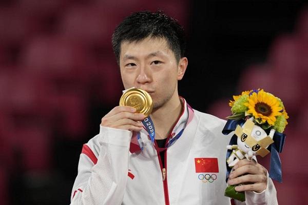 中國馬龍連霸男子桌球單打