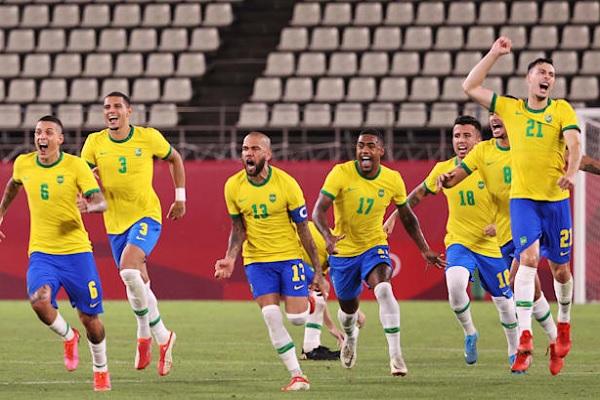 巴西 足球金牌