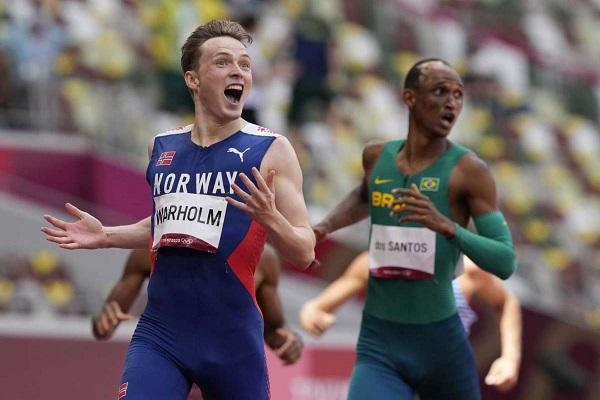 挪威名將Warholm 打破400m跨欄世界紀錄
