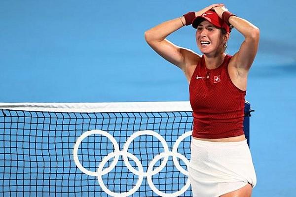 瑞士 班西琪獲女網金牌